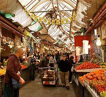 The Market Place - Tel Aviv by Mary Ellen Garcia