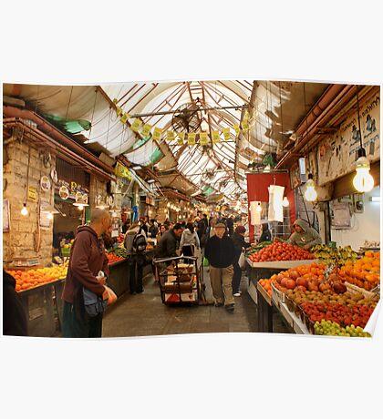 The Market Place - Tel Aviv Poster