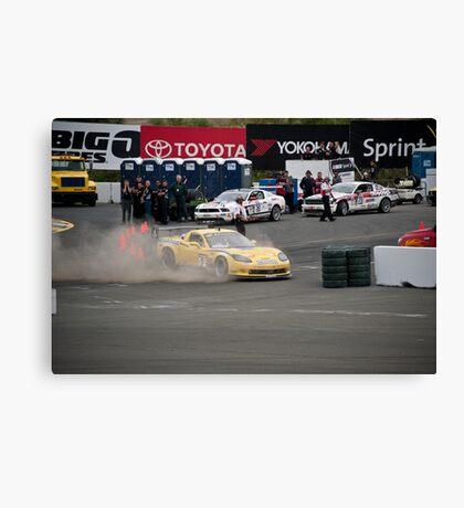 Corvette - Out of Control Canvas Print