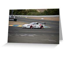 Corvette LeMans GT I Greeting Card