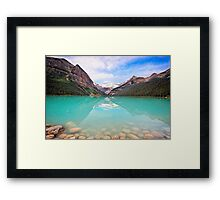 Lake Louise Tranquility Framed Print