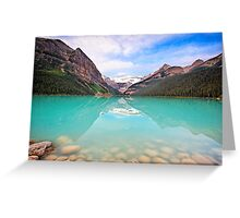 Lake Louise Tranquility Greeting Card