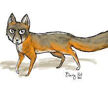 Canadian Fox by vanillafiction
