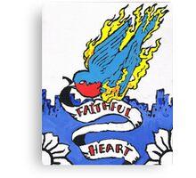 Faithful heart Canvas Print