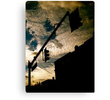 The Crying Boston Skies Canvas Print