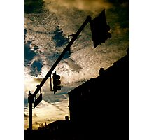 The Crying Boston Skies Photographic Print