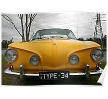 Razor Edge - 1966 Karmann Ghia Type 34 Poster