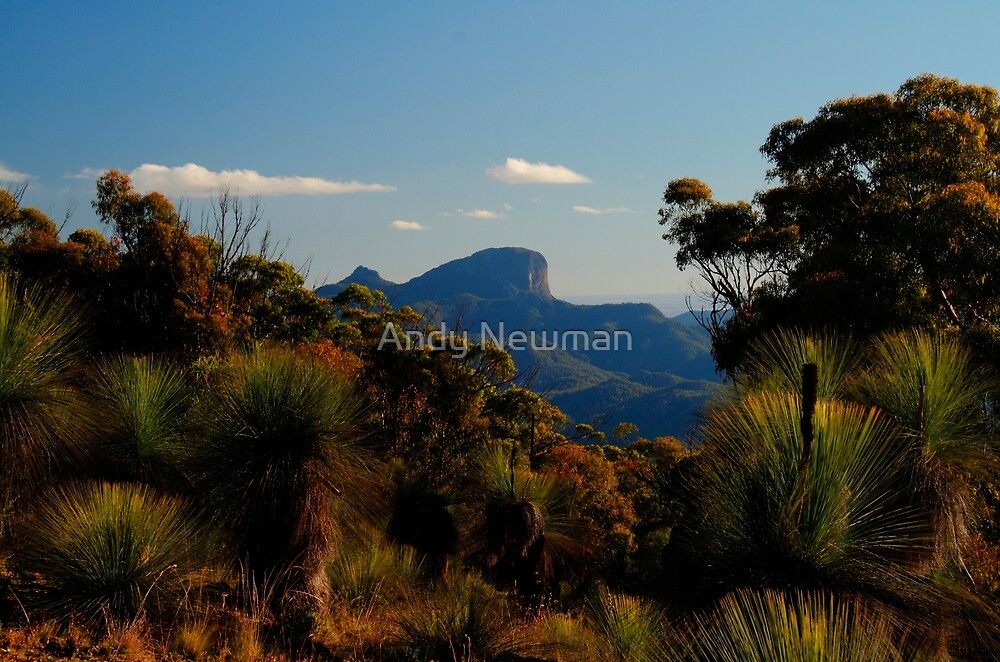 Bluff Mountain, Warrumbungles National Park. by Andy Newman