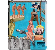 Andy Warhol's Pool Party iPad Case/Skin