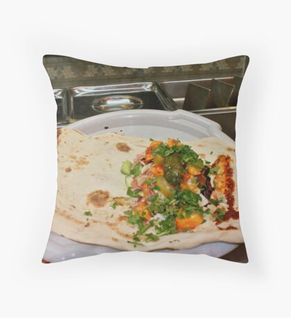 Now That's What I Call A Pita Pocket! Throw Pillow
