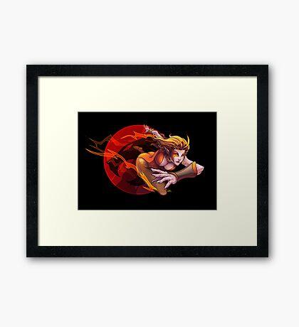 The Cheetah Framed Print
