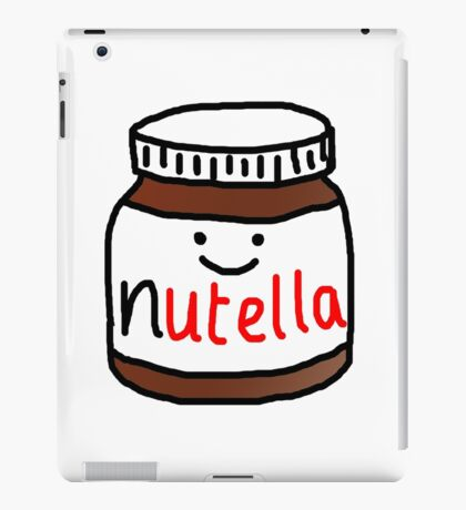 Nutella :D iPad Case/Skin