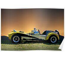 1964 Lotus Super 7 Poster
