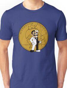 two face plumber Unisex T-Shirt