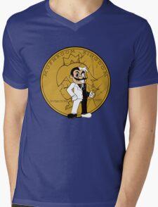 two face plumber Mens V-Neck T-Shirt