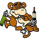 DRUNK CHIMPS by Chimpking