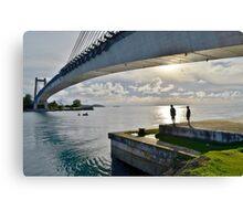 Japan-Palau Peace Bridge Canvas Print