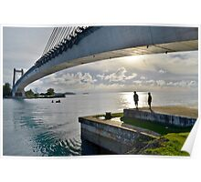 Japan-Palau Peace Bridge Poster