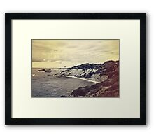 Crystal Cove Framed Print