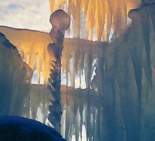 Sunset on Ice by shutterbug2010