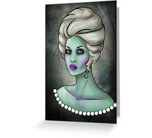 Zombie Queen Greeting Card