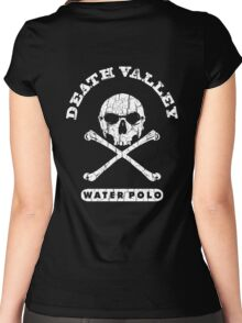 death valley water polo Women's Fitted Scoop T-Shirt