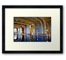 Hearst Pool Framed Print