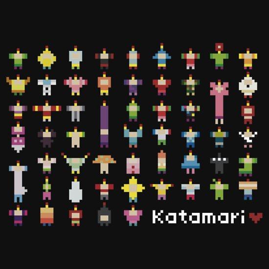 "Katamari Pixel Party"" T-Shirts & Hoodies by rydiachacha | Redbubble"