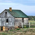Amish Country Barn by Brendon Perkins