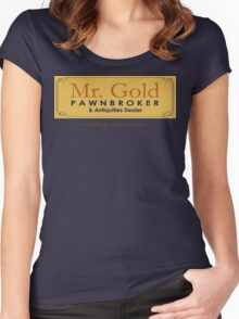 Mr Gold's Pawn Shop Women's Fitted Scoop T-Shirt