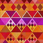 Fire diamond Pattern by rainbowflowers