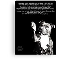 I'll Love You Anyway Canvas Print