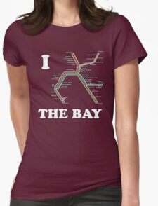 Bay Area Love Womens Fitted T-Shirt