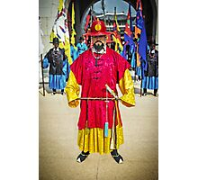The Changing of the Guard at Gyeongbokgung Palace Photographic Print