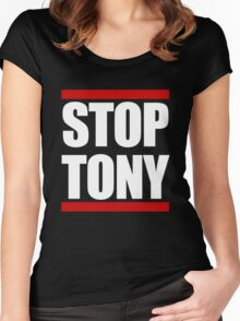 STOP TONY Women's Fitted Scoop T-Shirt