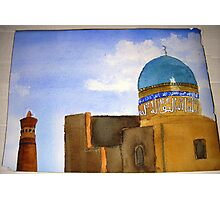 "Detail of  ""Bukhara skyline""  Photographic Print"