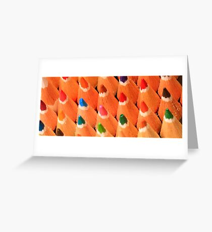 Colour Pallette Greeting Card