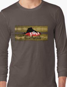 piha / lion rock tribal waves  Long Sleeve T-Shirt