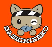 Sashimineko Tee Kids Clothes