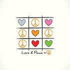 Love &amp; Peace by favoritedarknes