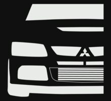 Mitsubishi Lancer Evolution Close Up Zoom - T Shirt / Phone Case Design  Kids Tee