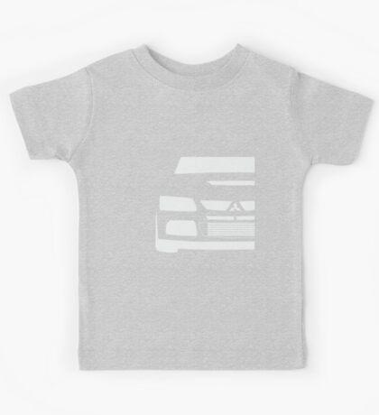 Mitsubishi Lancer Evolution Close Up Zoom - T Shirt / Phone Case Design  Kids Tee