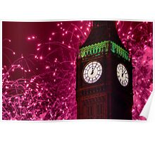 New Years Eve Fireworks London 2010 Poster