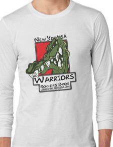 usa warriors crocodile by rogers bros Long Sleeve T-Shirt