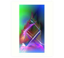 color caress Art Print