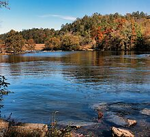 Mountain Fork Park...Another View by Carolyn  Fletcher