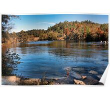 Mountain Fork Park...Another View Poster