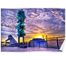 Tacoma Washington Sunrise Poster
