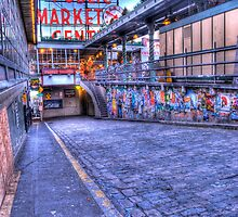 Pikes Place Market Seattle by KiloPhotos