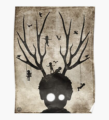 Deer imaginary friends Poster